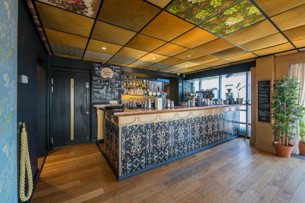 The cocktail bar at Charles' Bar