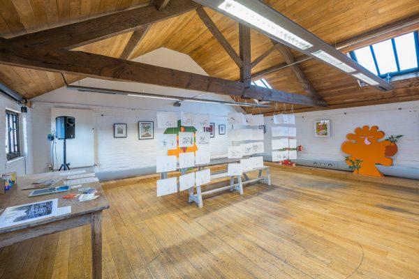 Gallery Space art exhibition at De Koffie Pot