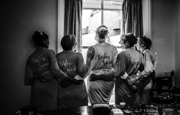 Wedding Party in Accommodation in Gwynne House